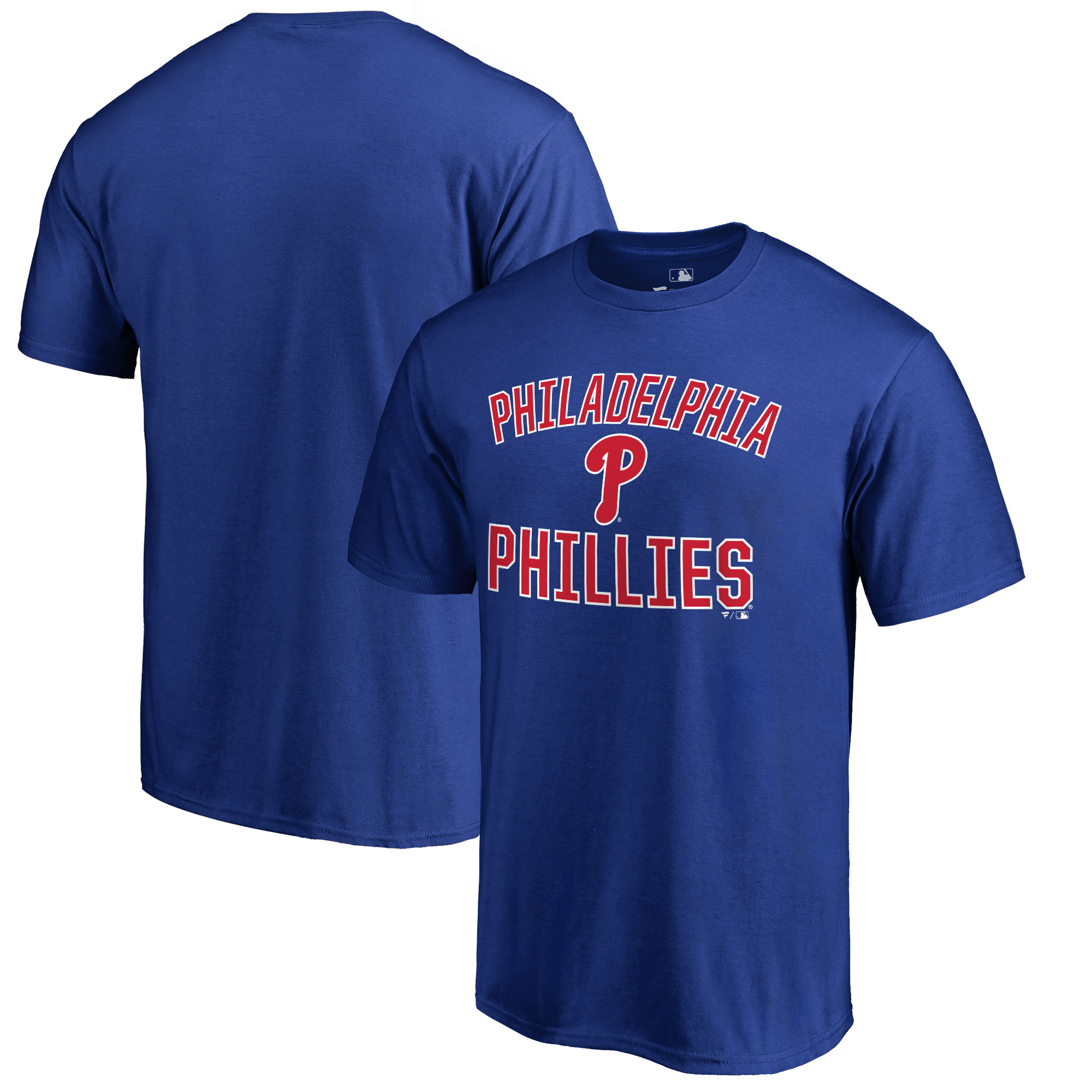 Philadelphia Phillies Victory Arch T-Shirt - Royal