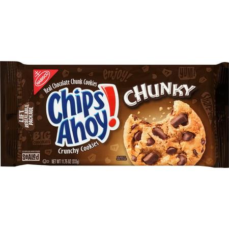 (3 Pack) Nabisco Chips Ahoy! Chunky Chocolate Chunk Cookies, 11.75 oz
