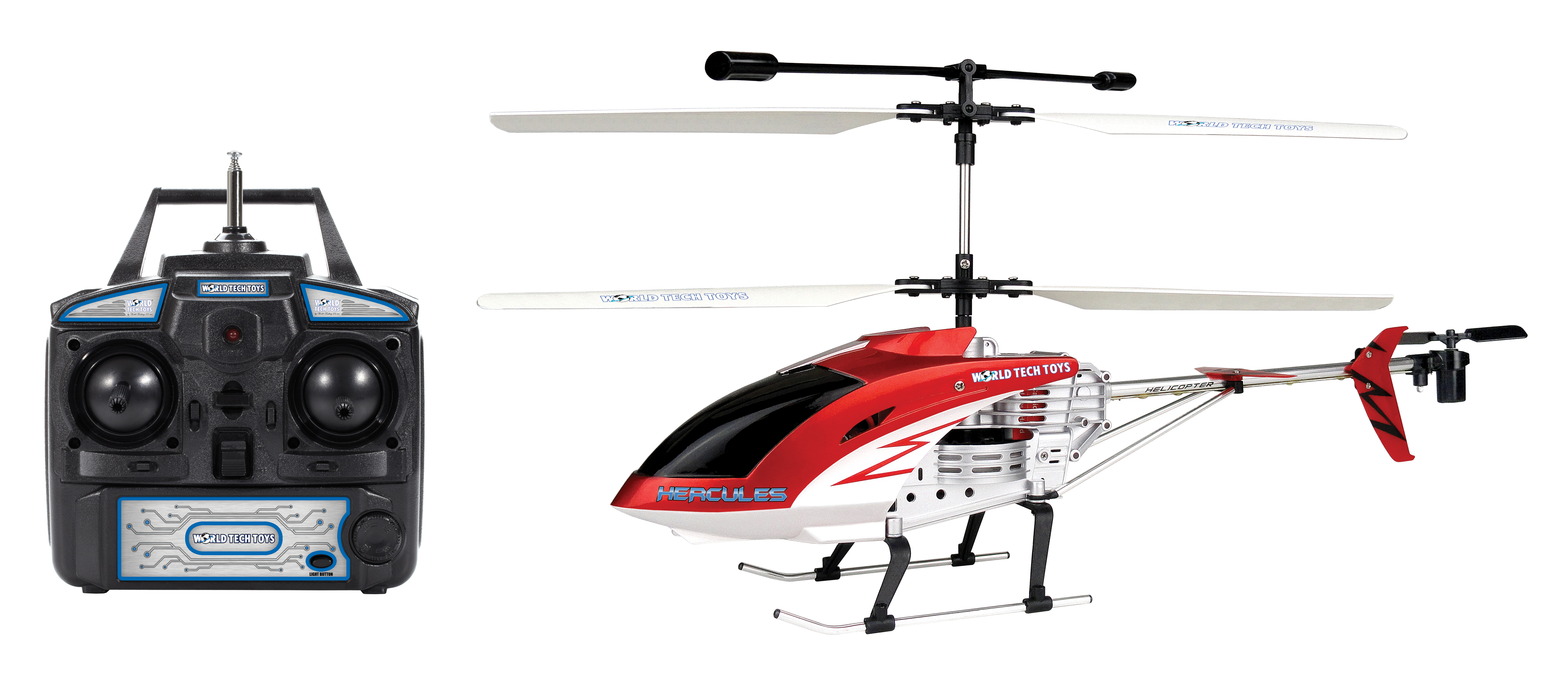 Hercules Unbreakable 3 5CH RC Helicopter Walmart