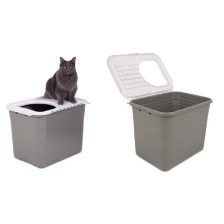 Petmate Top Entry Cat Litter Box Walmartcom