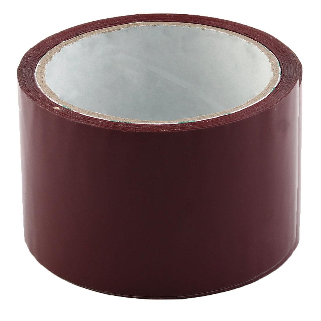 Shipping PVC Box Parcel Sealing Adhesive Tape Purple 2.4'' x 32.8 Yards(98.4 Ft)