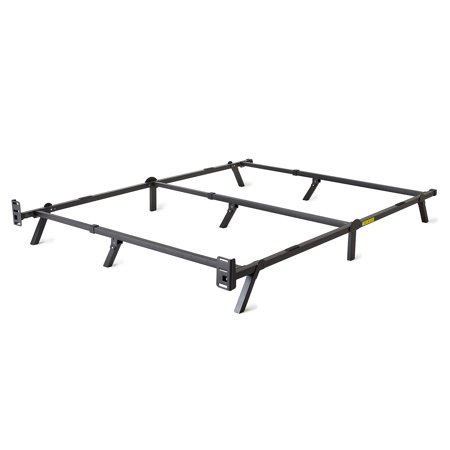 Cannon Low Profile Swivel Base - intelliBASE Low Profile Adjustable Twin Full Queen Box Spring Metal Bed Frame