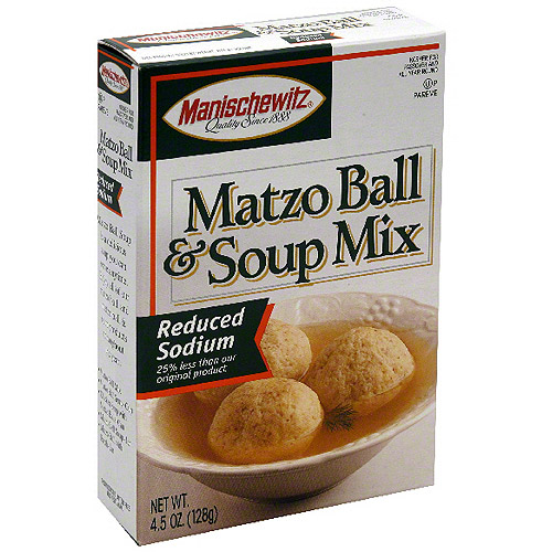 Manischewitz Matzo Ball Soup Mix, 4.5 oz (Pack of 12)