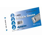 Dynarex Krinkle Gauze Sterile 4.5 inches x 4.1 yards 1 Each (Pack of 6)