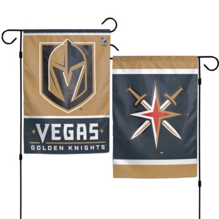 Las Vegas Golden Knights NHL WinCraft Black & Gold 2-Sided Vertical Garden Flag ()