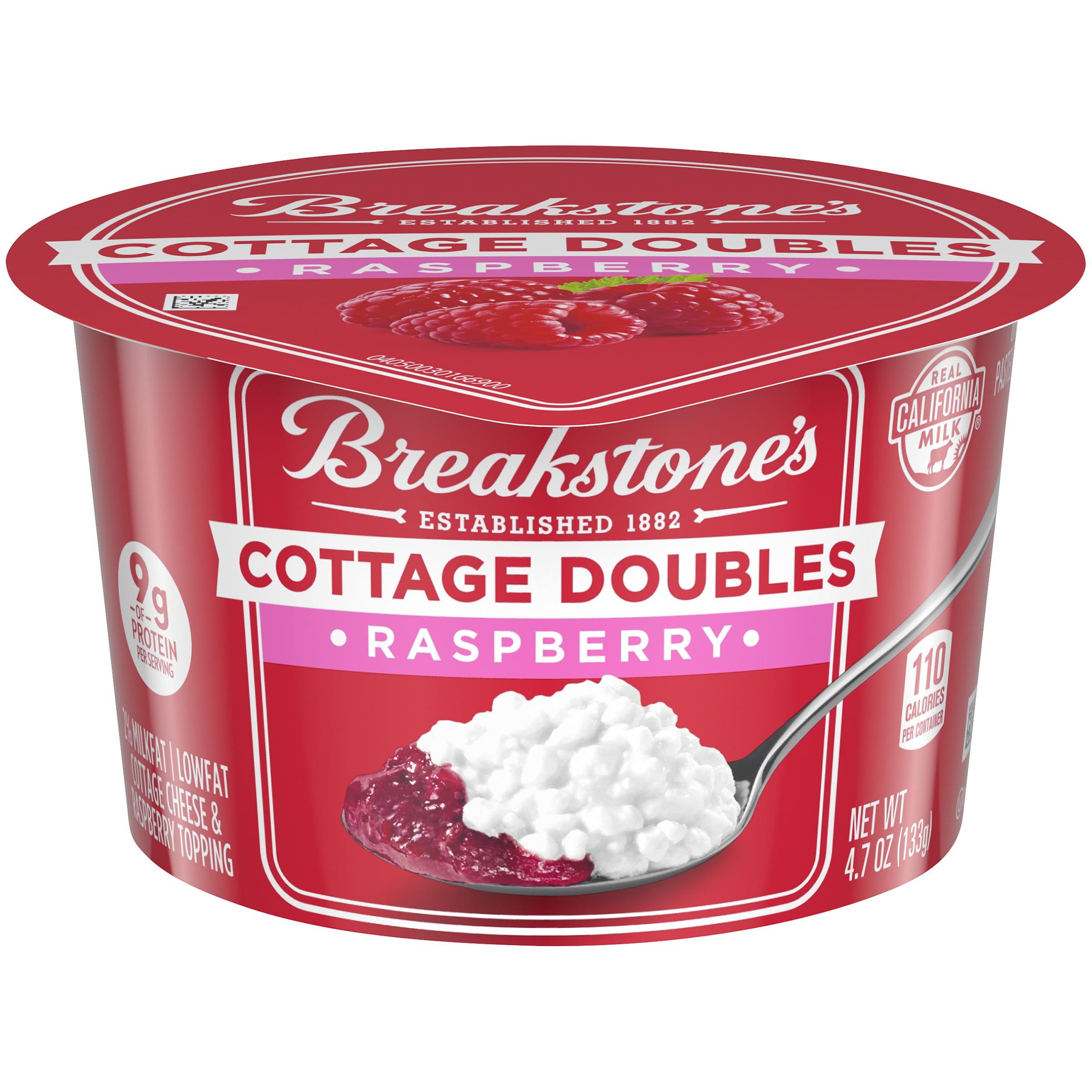 Breakstone\'s 2% Milk Fat Raspberry Cottage Doubles, 4.7 Oz ...
