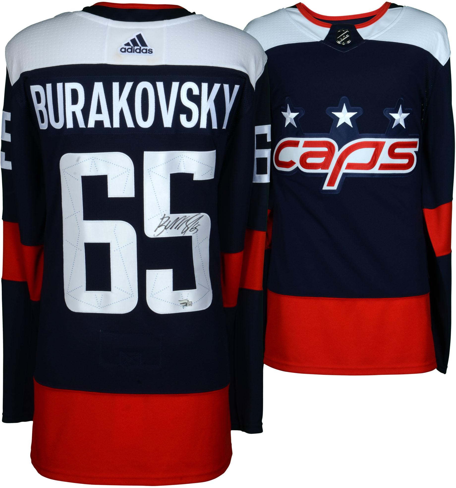 online store c7cc2 04866 Andre Burakovsky Washington Capitals Autographed 2018 Stadium Series Adidas  Authentic Jersey - Fanatics Authentic Certified