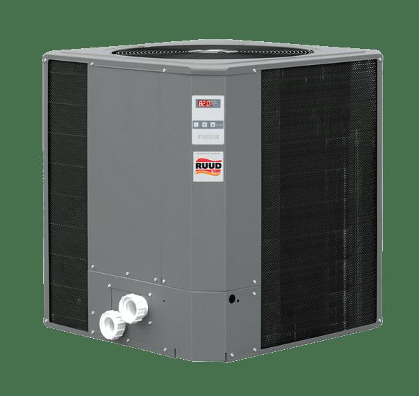 Raypak Ruud 115K Btu Titanium Digital M6350ti-E-HC Heat Cool Pump
