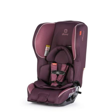 Diono Rainier 2AX Latch Convertible Car Seat, Plum