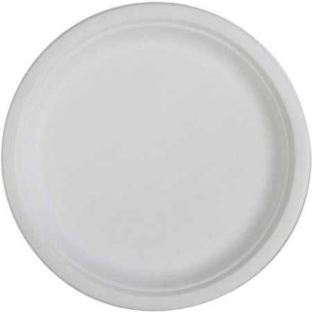 Genuine Joe Compostable Plates, 10