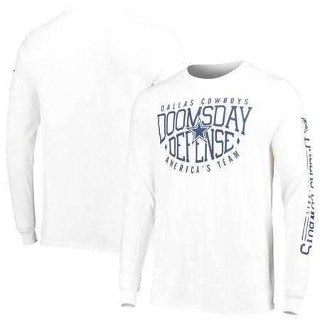 Dallas Cowboys Domes Football Long Sleeve T-Shirt - White Dallas Cowboys Football Shorts