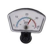 Aquarium Fish Tank Plastic 0-40 Degree Celsius Dial Index Thermometer Clear