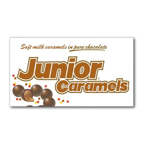 Junior Caramels 3.6oz Theater Box: 12 Count by Junior Mints