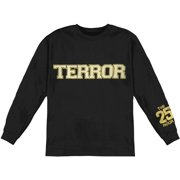 Terror Men's  Eagle  Long Sleeve Black