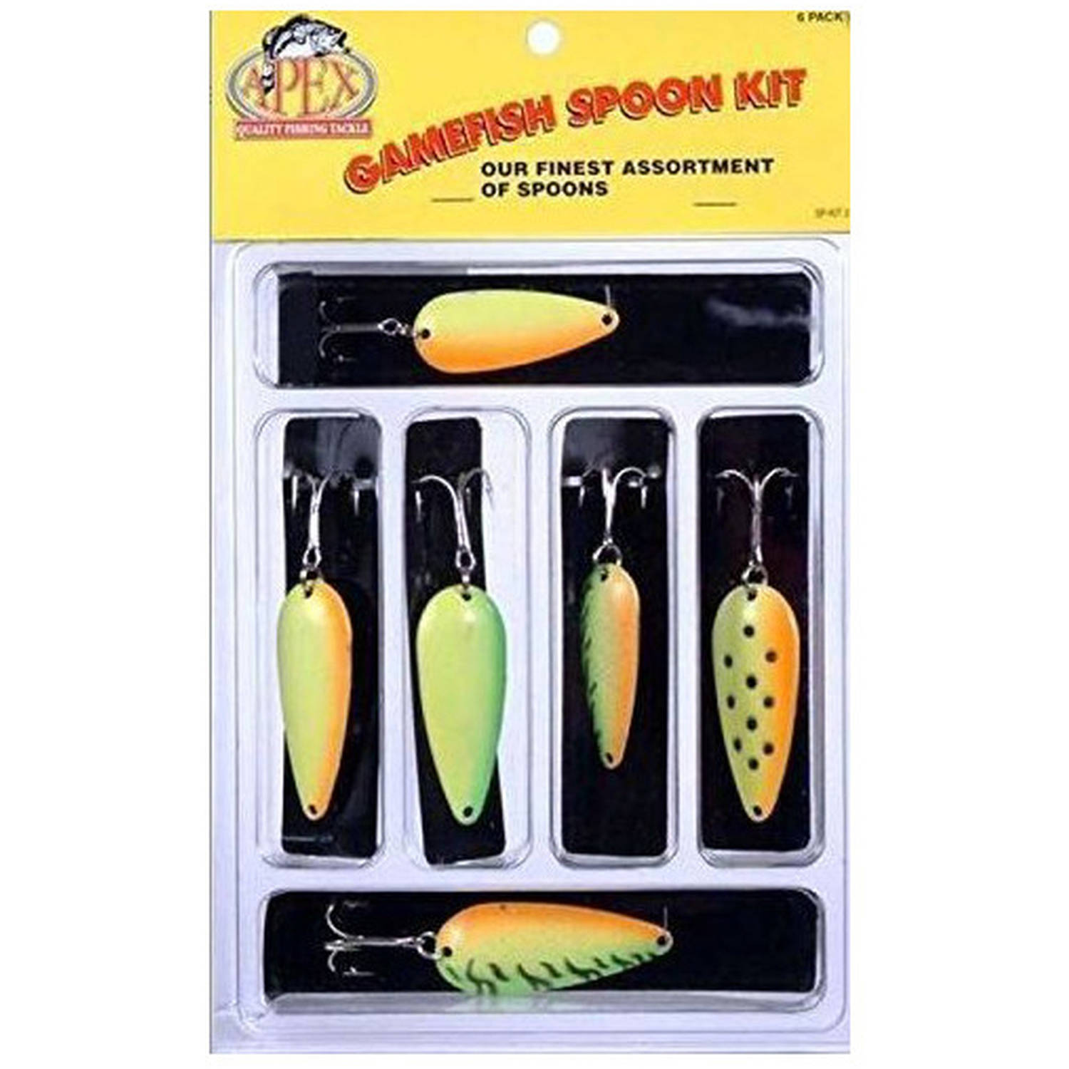 Apex Trout Gamefish Spoon Kit