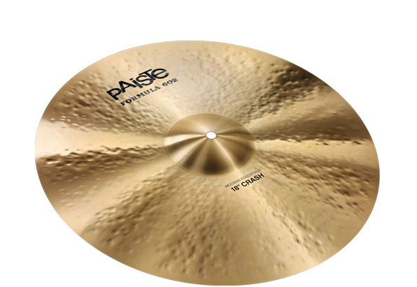 """Paiste 1141418 18"""" Formula 602 Modern Essentials Crash Cymbal With Full Sound by"""