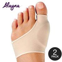 Bunion Corrector Relief Sleeve with Gel Bunion Pads Cushion Splint Orthopedic Unisex Bunion Protector (2 PCS)