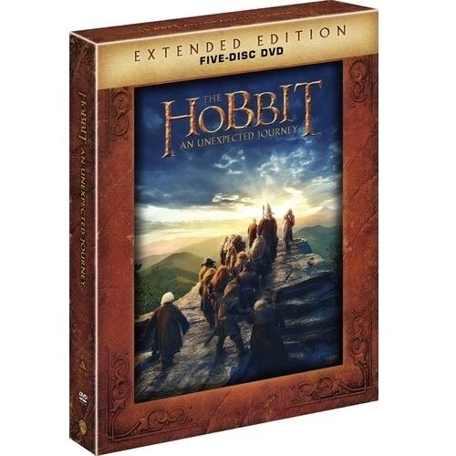 The Hobbit: An Unexpected Journey (Extended Edition) (5-Disc DVD + UltraViolet) (Widescreen)