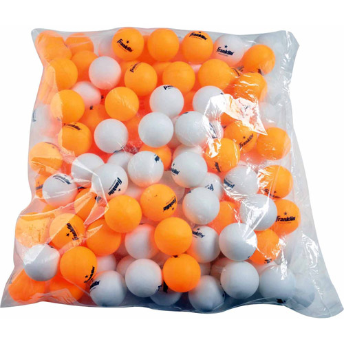 Franklin Sports 40mm 1 Star Orange Table Tennis Balls, 144ct.