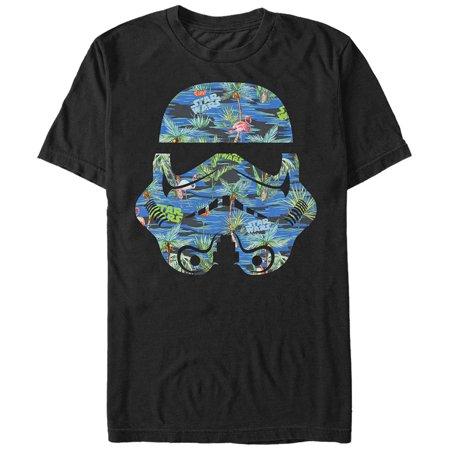 Star Wars Men's Stormtrooper Helmet Flamingo Print - Diy Stormtrooper Helmet