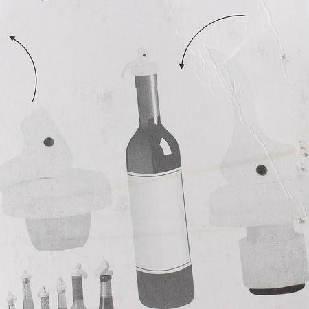 Champagne Red Wine Liquor Sealed Bottle Lid Sealer Cap Stopper 3Pcs for Home Essential - image 1 of 2