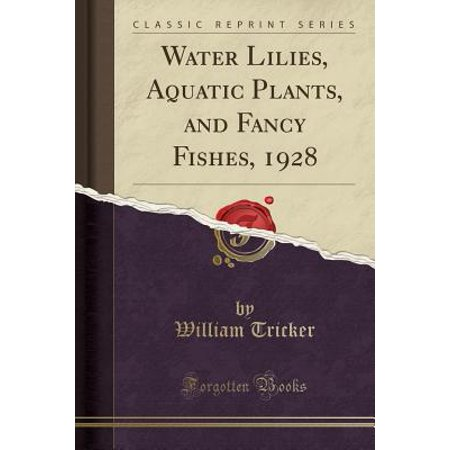 Water Lilies, Aquatic Plants, and Fancy Fishes, 1928 (Classic Reprint) - Fancy Fish