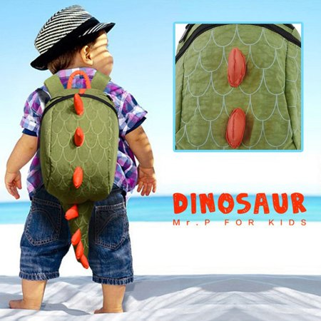 Dinosaur Backpack Dragon Waterproof School Bag Boy Girl Cartoon Kindergarten