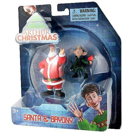 Arthur Christmas Santa.Arthur Christmas Santa Bryony Mini Figure 2 Pack