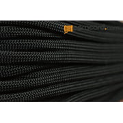 Paracord - Type II 7 Strand 550 Lb Test Parachute Cord Outdoor Rope Tie Down - Black Length in Feet