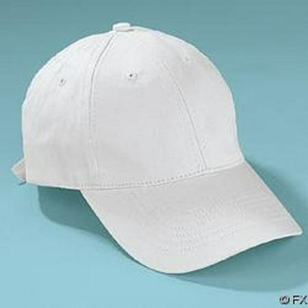 White Cotton Craft Baseball Caps Hats Lot of - White Baseball Hat