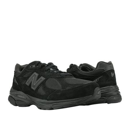 best website 9bf63 0bb84 New Balance 990v3 Total Black Men's Running Shoes M990TB3
