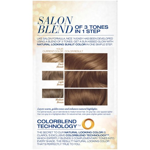 Clairol Nice N Easy Sun Kissed Permanent Hair Color 9pb Shimmering