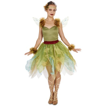 a193c42d828 Woodland Fairy Princess Women's Adult Halloween Costume