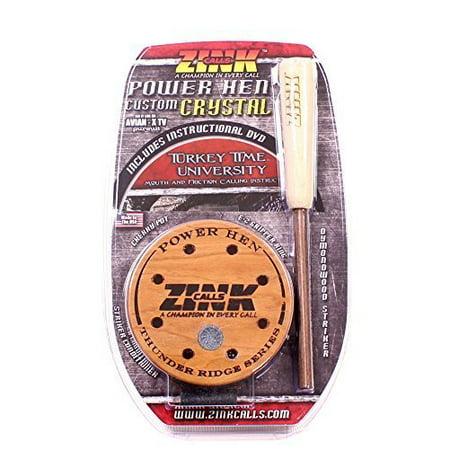 Zink Calls Power Hen Crystal Pot Turkey Call Hunting