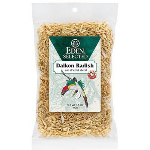 Eden Daikon sun dried & sliced, 3.5 Ounce (Pack of 6) by