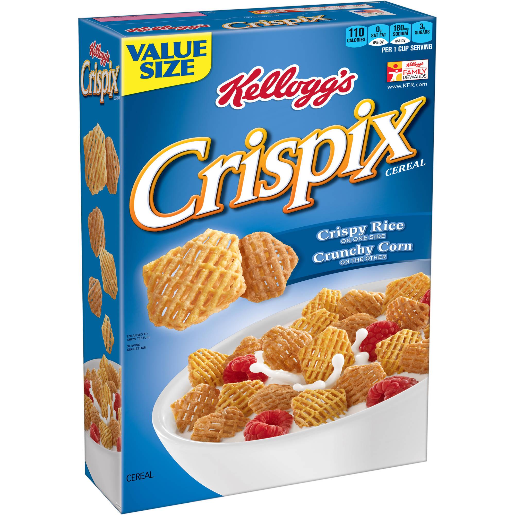 Kellogg's Crispix Original Cereal Family Size, 18 oz