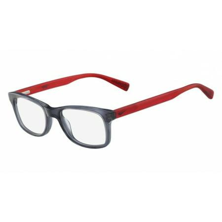 Nike NIKE 5538 Eyeglasses 070 Anthracite/Red Nike NIKE 5538 Eyeglasses 070 Anthracite/Red