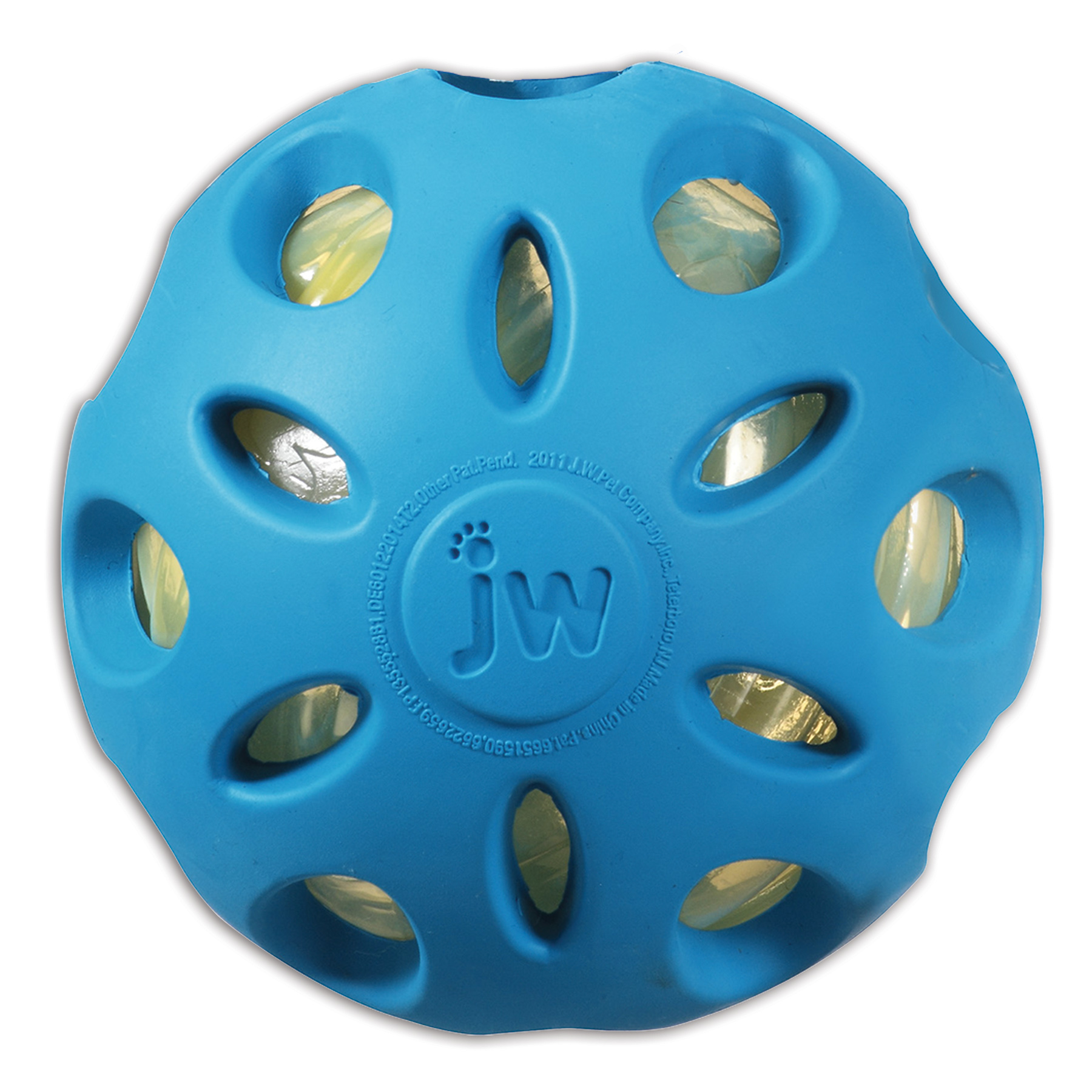 Jw Crackle Heads Crackle Dog Ball, Large