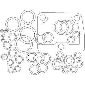ar31946 valve overhaul kit made for john deere 2510 2520