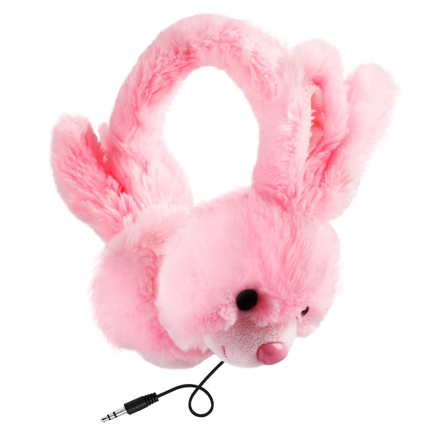 Jamsonic Stuffed Animal Plush On Ear Headphone, Kids, Children, use for Phones, PC, MP3, MP4, Earmuffs
