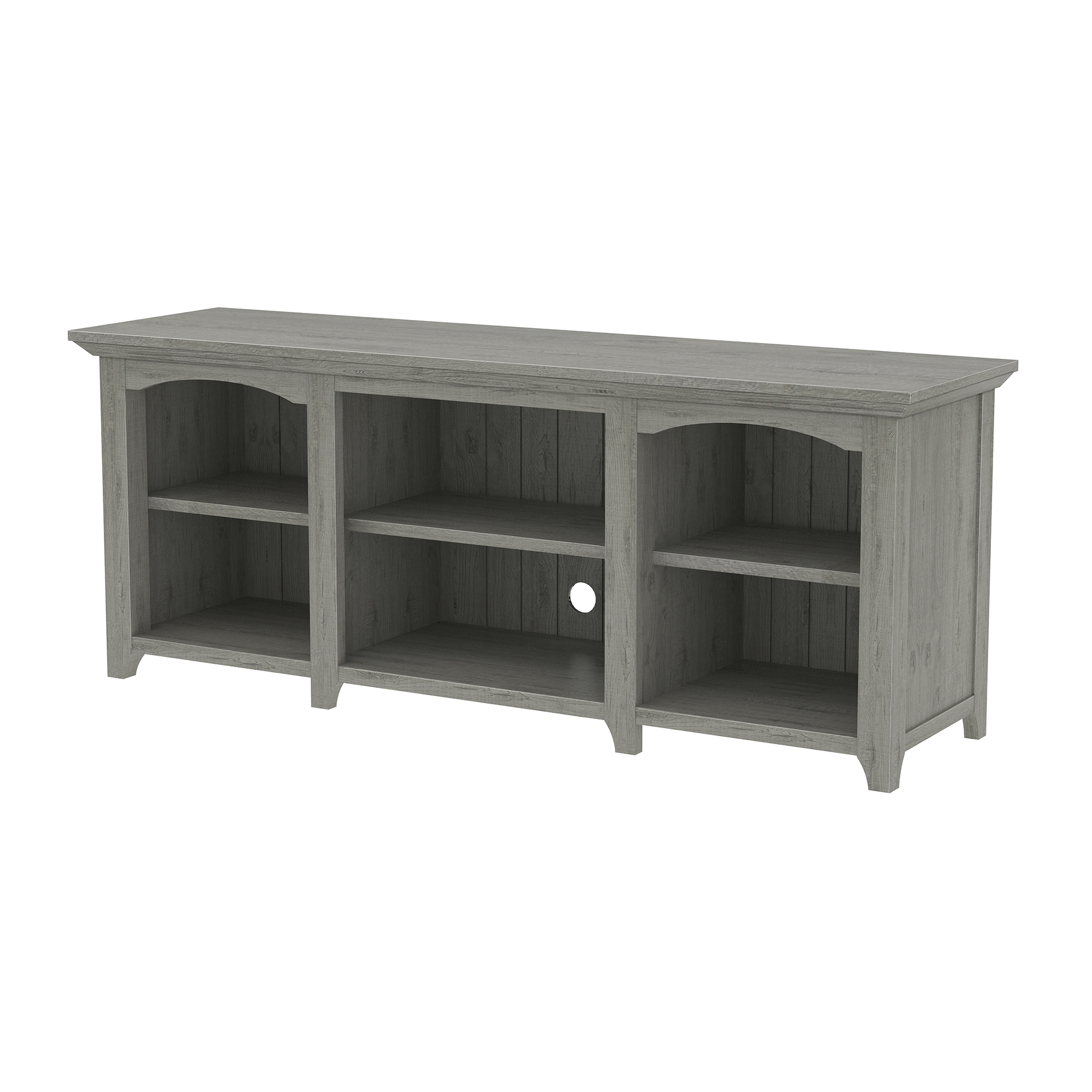 Flemington Gray Oak TV Stand for TVs up to 60""