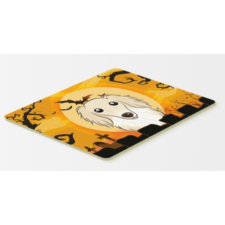 Halloween Longhair Creme Dachshund Kitchen or Bath Mat 20x30 BB1770CMT - Bath Uni Halloween