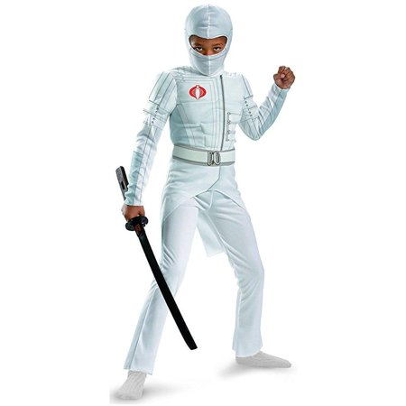 disguise boys gi joe movie storm shadow light up deluxe muscle costume, large/10-12