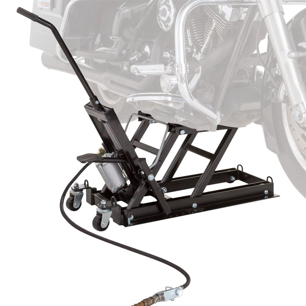 Black Widow Motorcycle & ATV Pneumatic Hydraulic Jack