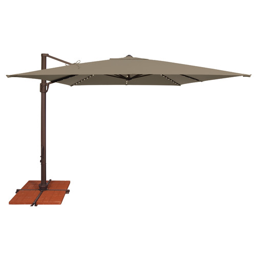 SimplyShade Bali 10' Square Cantilever Umbrella by Simply Shade