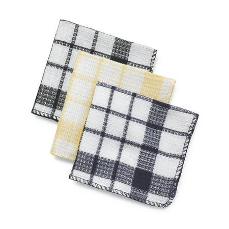 6 Dozen Multi-Colored Waffle Weave Dish Towels