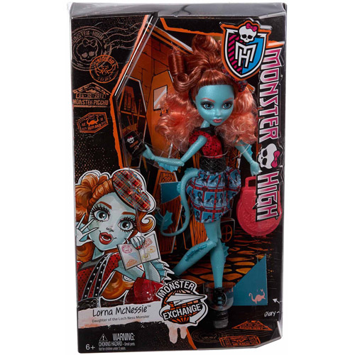 Monster High Monster Exchange Program Lorna McNessie Doll by Mattel