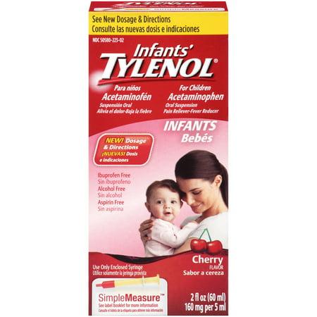 Tylenol suspension orale de nourrissons, 2 Oz