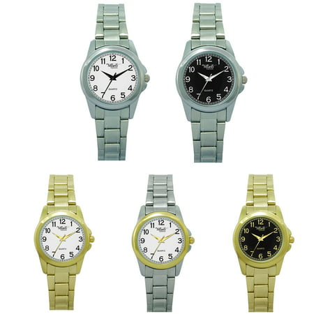 M Milano Expressions Metal Band Watch -45901 (Milano Ladies Fashion Watch)