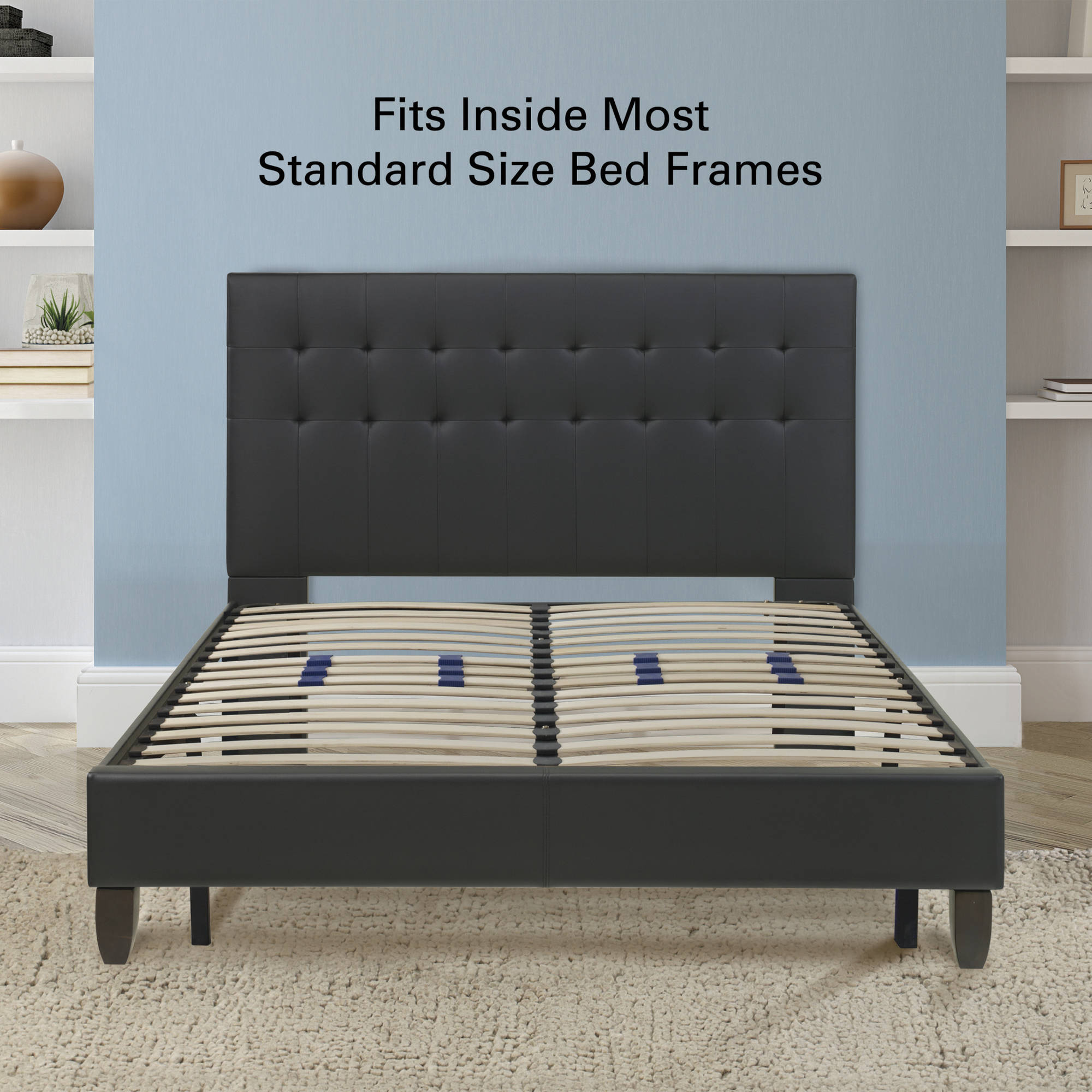 premier flex platform base foundation bed frame with adjustable lumbar support multiple sizes walmartcom